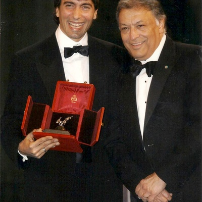 Carlo Ponti with Zubin Mehta in 2006.